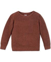 C&A Pullover in Orange / Grau