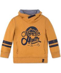 C&A Sweatshirt mit Schalkragen in Orange