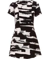 Suncoo Kleid mit kurzem Schnitt - gemustert
