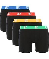 Lower East Herren Boxershorts Soft Comfort, 4er Pack
