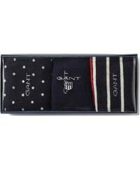 GANT Boîte Cadeau De 3 paires De Chaussettes Pour Les Fêtes - Red