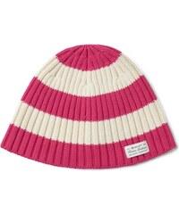 GANT Bonnet à Larges Rayures - Rich Pink