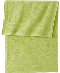 bpc living Ensemble serviettes de toilette New Uni Deluxe (10 pces.) vert maison - bonprix