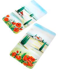 bpc living Plaques de protection Toscane (Ens. 2 pces.) orange maison - bonprix