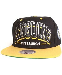 Mitchell And Ness Casquette Casquette Snapback Penguins Triplear
