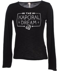 Kaporal T-shirt enfant Perse black ml tee