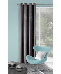 Dekorační závěs LEONARDO šedá 140x250 cm MyBestHome Varianta: závěs - 1 kus 140x250 cm