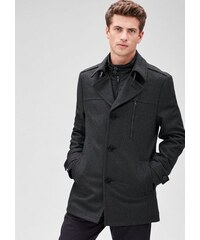 S.OLIVER BLACK LABEL BLACK LABEL Slim: Modische Wolljacke schwarz L (50),M (48),XL (54),XXL (58)