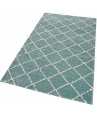 Teppich Collection Loreta gewebt HOME AFFAIRE COLLECTION blau 1 (B/L: 60x110 cm),2 (B/L: 80x150 cm),3 (B/L: 120x170 cm),4 (B/L: 160x230 cm),6 (B/L: 200x300 cm),7 (B/L: 240x340 cm)