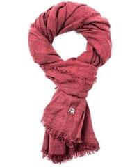 Damen LERROS Schal mit Streifen LERROS rot