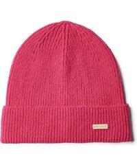 GANT Bonnet Uni En Coton Et Laine - Rich Pink