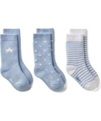 GANT Lot De 3 paires De Chaussettes Pour Nouveau-né - Hamptons Blue