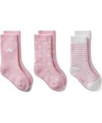 GANT Lot De 3 paires De Chaussettes Pour Nouveau-né - California Pink