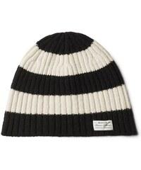 GANT Bonnet à Larges Rayures - Black