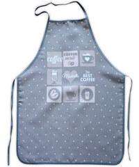 Kuchyňské zástěry PATISSERIE 60x75 cm, šedá, Essex