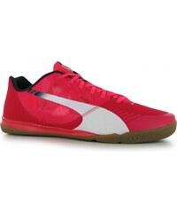 Puma Evo Speed Sala Junior Indoor Court Trainers, red/white