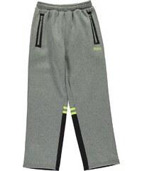 Lonsdale Heavy Duty Open Hem Pants Junior Boys, grey marl