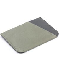 Peněženka Micro Sleeve od Bellroy - eukalyptová, kožená
