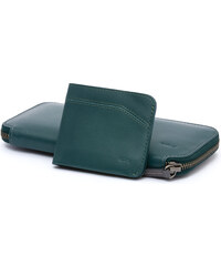 Peněženka Carry Out od Bellroy - teal, kožená