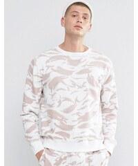 Maharishi - Wendbares Sweatshirt mit Rundhalsausschnitt und Tarnmuster - Beige