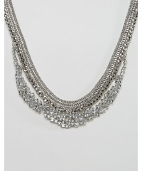 DesignB London DesignB - Auffällige Kette - Silber