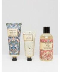 Beauty Extras Morris & Co - Strawberry Thief - Körperpflege-Set - Transparent