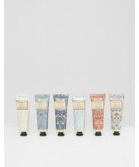 Beauty Extras Morris & Co - Strawberry Thief - Handcreme-Bibliothek, 6 x 30 ml - Transparent