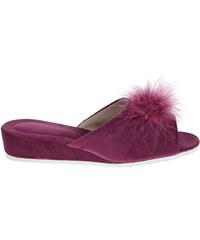 Rejnok Dovoz Dámské domácí pantofle 1031.00 fialové