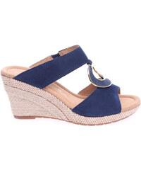 Gabor dámské pantofle 42.821.16 modré