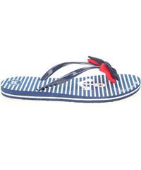 Gioseppo Carabassi navy dívčí plážové pantofle