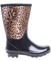 Gioseppo dívčí holinky Wetland leopard