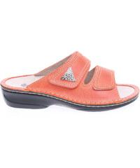 Rejnok Dovoz OrtoMed dámské pantofle 3700-012-P79 oranžové
