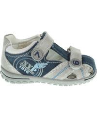 Primigi Bravo 3571100 chlapecké sandály šedá-modrá