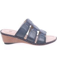 Remonte dámské pantofle D6162-14 modré