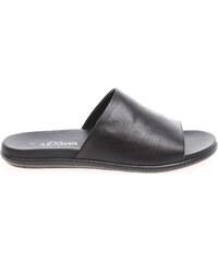 s.Oliver pánské pantofle 5-17105-36 černé