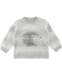 Fixoni Dětský kabátek Dear s ježkem - šedý