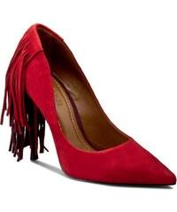 High Heels BAYLA - 130328/CAB1 Nobuck Carmim