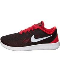 Nike Performance FREE RN Chaussures de running neutres black/metallic silver/university red