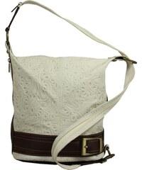 FELICE Krémová kabelka cez rameno (A07 krem) odtiene farieb  béžová ... 566133beda9