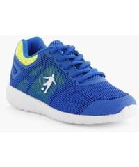 DWN TWN Baskets bicolores respirantes Bleu