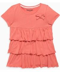 CAPRICE DE FILLE T-shirt à volants en coton Rose