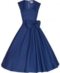 Lindy Bop retro šaty Grace Midnight Blue