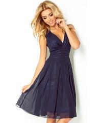 SAF dámské slavnostní šaty tmavě modré