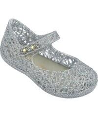 1e4b88138f57 Detské topánky Mini Melissa Campana ZigZag V Mixed Silver Glitter