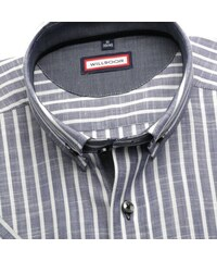 Willsoor Pánská košile Slim Fit (výška 176-182) 5843 v šedé barvě ... bde52ced8e