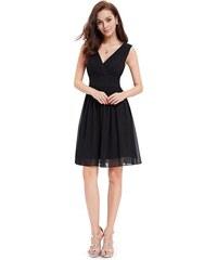 9083c6baa85 Ever-Pretty Jednoduché černé šaty