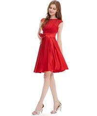 Ever-Pretty Červené koktejlky A střihu 4bbeeff917