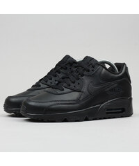 Nike Air Max 90 Leather (GS) black   black 6193d2de99