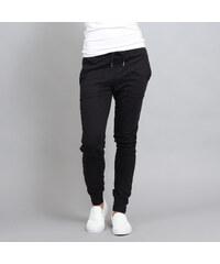 Urban Classics Ladies Fitted Slub Terry Pants černé e40f28d3273