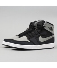 Jordan Air Jordan 1 KO High OG black   shadow grey - white 3a106a2324f
